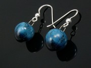 Deep Waters Ball Earrings