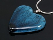 Deep Waters Medium Heart Pendant