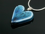 Deep Waters Small Heart Pendant
