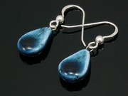 Deep Waters Teardrop Earrings