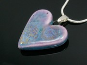 Lakeland Heather Small Heart Pendant