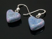 Lakeland Heather Small Heart Earrings