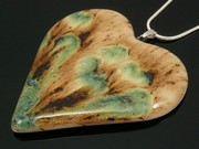 Lakeland Path Large Heart Pendant