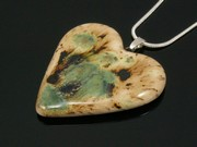 Lakeland Path Medium Heart Pendant
