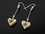 Lakeland Path Small Heart Dangle Earrings