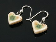 Lakeland Path Small Heart Earrings