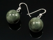 Misty Hills Ball Earrings