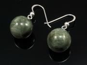 Misty Hills Ball Earrings