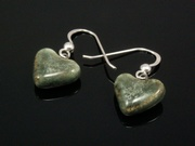 Misty Hills Small Heart Earrings