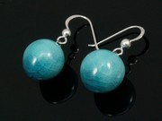 Sunlit Waters Ball Earrings
