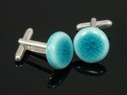 Sunlit Waters Cufflinks
