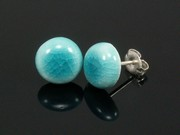Sunlit Waters Small Round Studs