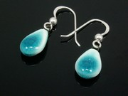 Sunlit Waters Teardrop Earrings