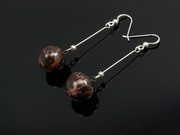 Timeless Copper Ball Dangle Earrings