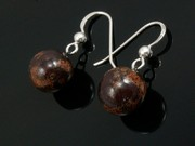 Timeless Copper Ball Earrings