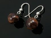 Timeless Copper Ball Earrings