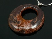 Timeless Copper Large Drop Circle