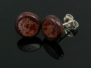 Timeless Copper Small Round Studs