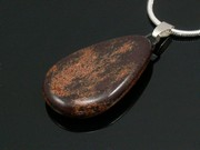 Timeless Copper Teardrop Pendant