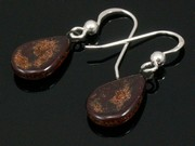 Timeless Copper Teardrop Earrings