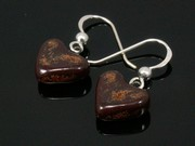 Timeless Copper Small Heart Earrings