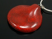 Touch of Fire Shell Pendant