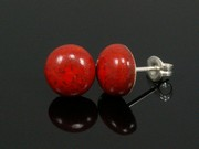Touch of Fire Small Round Studs