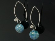 Ullswater Ball Swirl Earrings