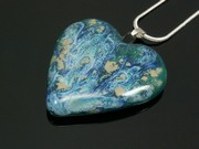 Ullswater Medium Heart Pendant