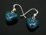 Ullswater Small Heart Earrings